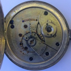 Hampden Grade No. 30 Pocket Watch