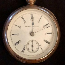 Illinois Grade 4 Pocket Watch