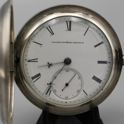 U.S. Watch Co. (Marion, NJ) Grade John W. Lewis Pocket Watch