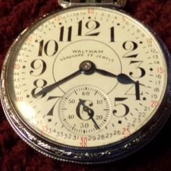 Waltham Grade Vanguard Pocket Watch