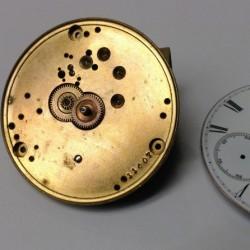 E. Howard & Co. Grade Series III Pocket Watch Movement