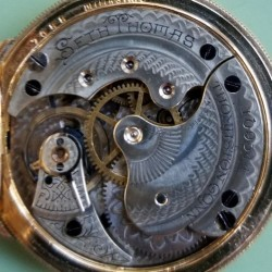 Seth Thomas Grade 122 Pocket Watch