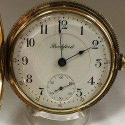 Rockford Grade 845 Pocket Watch