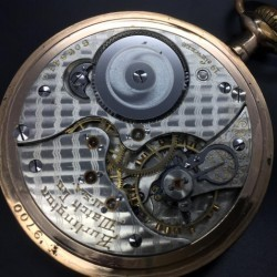 Illinois Grade 174 Pocket Watch