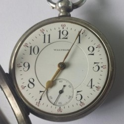Waltham Grade Home Watch Co. Pocket Watch