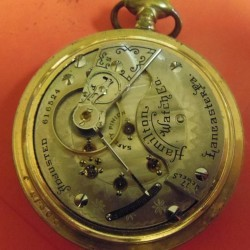 Hamilton Grade 934 Pocket Watch
