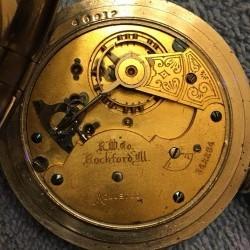 Rockford Grade 89 Pocket Watch
