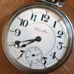 Hamilton Grade 924 Pocket Watch