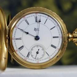 Hampden Grade No. 108 D (in flag) Pocket Watch