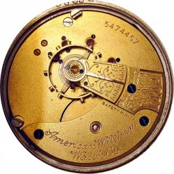 Waltham Grade No. 3 Pocket Watch