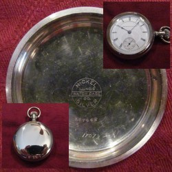Peoria Watch Co. Grade Railroad Pocket Watch