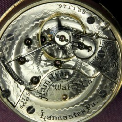 Hamilton Pocket Watch #971135