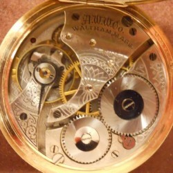 Waltham Grade No. 610 Pocket Watch