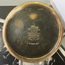 Elgin Grade 290 Pocket Watch