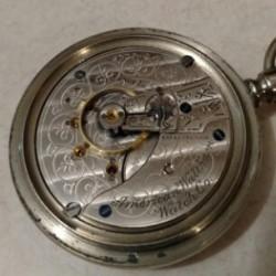 Waltham Grade No. 84 Pocket Watch