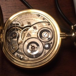 Elgin Grade 189 Pocket Watch