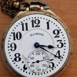 Illinois Grade 161 Pocket Watch