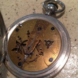 Elgin Pocket Watch #31658