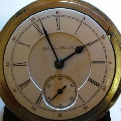 Hampden Grade New Railway Pocket Watch