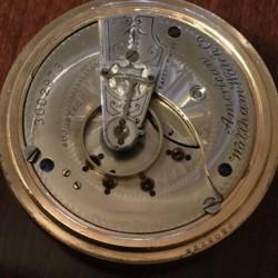 Waltham Grade No. 25 Pocket Watch