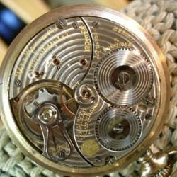 Hamilton Pocket Watch #B264500