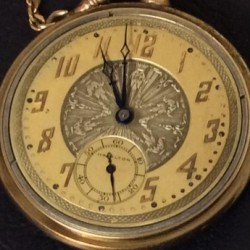Hamilton Grade 920 Pocket Watch