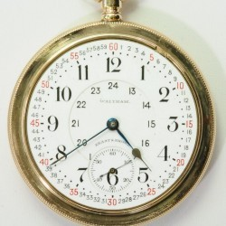 Waltham Grade Canadian Pacific Railway Pocket Watch