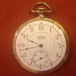 Illinois Grade 171 Pocket Watch