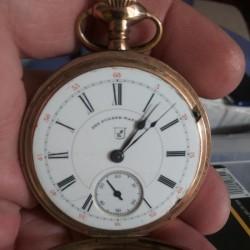Hampden Grade Anchor Pocket Watch