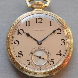 Hamilton Grade 918 Pocket Watch