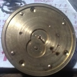Hampden Grade Springfield Pocket Watch