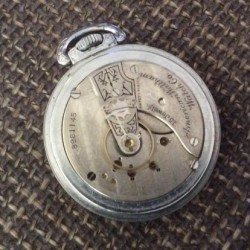 Hamilton Pocket Watch #8961145