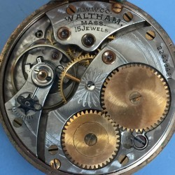 Waltham Grade No. 315 Pocket Watch