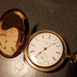 Elgin Grade 216 Pocket Watch