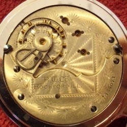 Rockford Grade 69 Pocket Watch