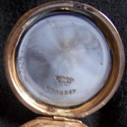 Elgin Grade 345 Pocket Watch