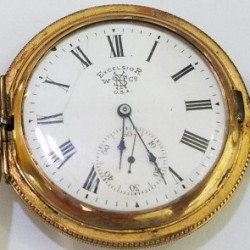 New York Standard Watch Co. Grade Excelsior Pocket Watch