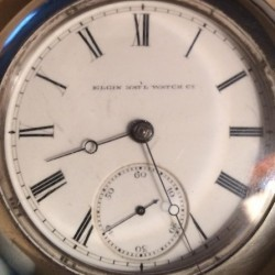 Elgin Grade 58 Pocket Watch