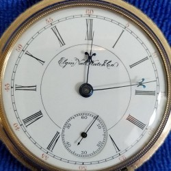 Elgin Grade 73 Pocket Watch