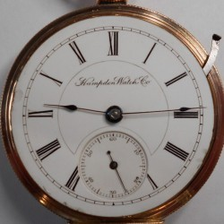 Hampden Grade No. 54 Pocket Watch