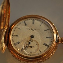 Elgin Grade 267 Pocket Watch