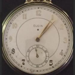Elgin Grade 495 Pocket Watch