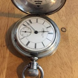 Illinois Grade 64 Pocket Watch