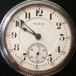 Elgin Grade 240 Pocket Watch