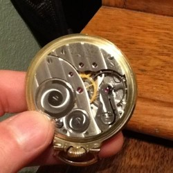 Elgin Grade 574 Pocket Watch