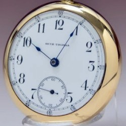 Seth Thomas Grade 182 Pocket Watch