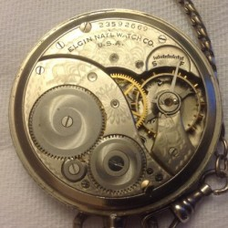 Elgin Grade 303 Pocket Watch