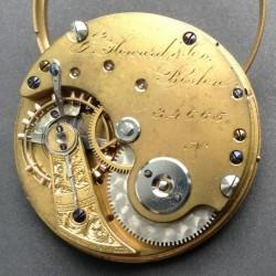 E. Howard & Co. Grade Series IV Pocket Watch Movement