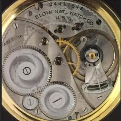 Elgin Grade 495 Pocket Watch
