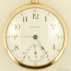 Waltham Grade No. 630 Pocket Watch
